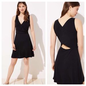 LOFT Dresses - 🥀NWT Loft Cutout Knit Flare Dress